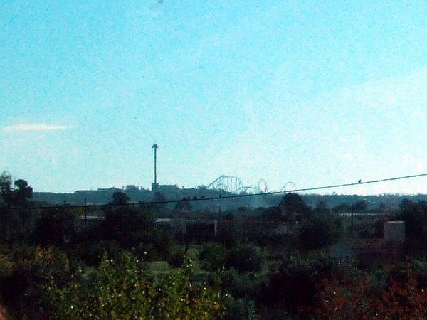 エスパーニャSPAINバレンシア地方バレンシア州都ホテルホリデイインバレンシア高速道路E15Tarragonaタラゴナの遊園地Port Aventuraポルト・アベントゥーラ