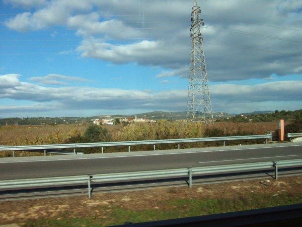 エスパーニャSPAINカタルーニャ地方・バルセロナ高速道路E15