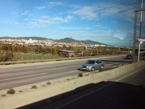 エスパーニャSPAINカタルーニャ地方・バルセロナ高速道路A16