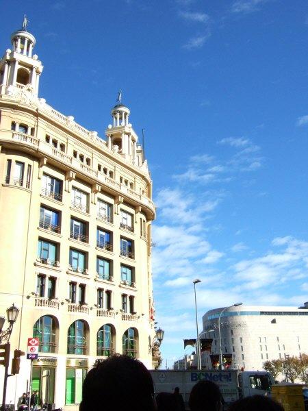 エスパーニャSPAINカタルーニャ地方・バルセロナ市街地