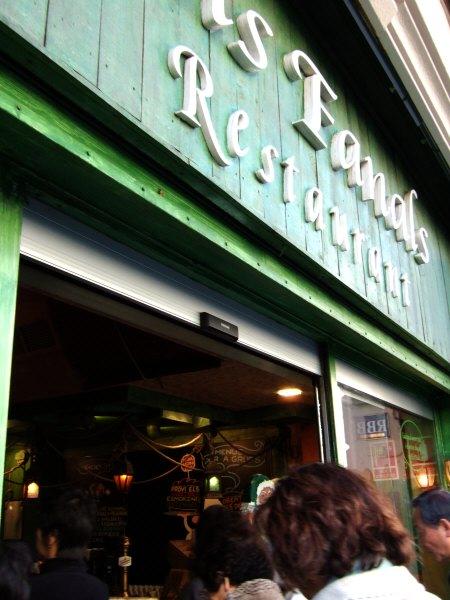 Els Fanals Restaurant