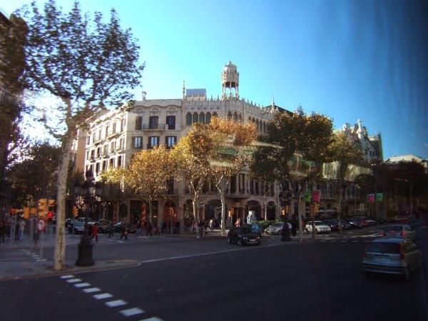 エスパーニャSPAINカタルーニャ地方・バルセロナ市街地の風景Casa Lleo Morera