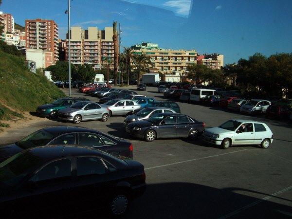 エスパーニャSPAINカタルーニャ地方・バルセロナ市街地の風景世界遺産世界文化遺産Parc Guell Antoni Gaudiアントニ・ガウディ