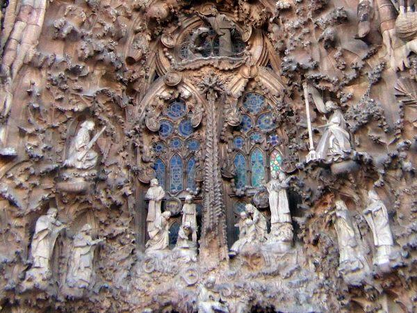 エスパーニャSPAINカタルーニャ地方・バルセロナ市街地の風景サグラダ・ファミリア(聖家族教会)サクラダファミリアtemplo de la Sagrada Familiaアントニー・ガウディ