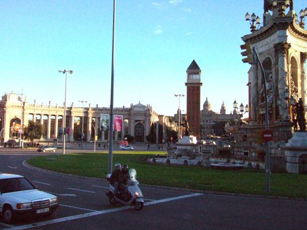 エスパーニャSPAINカタルーニャ地方・バルセロナ市街地の風景