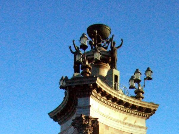 スペイン広場Placa de Espanya