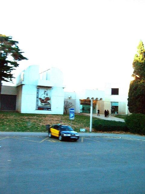 エスパーニャSPAINカタルーニャ地方・バルセロナモンジュイックの丘ジョアンミロ美術館ジョアン・ミロ美術館Fundacio Joan Miro