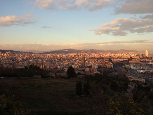 エスパーニャSPAINカタルーニャ地方・バルセロナモンジュイックの丘