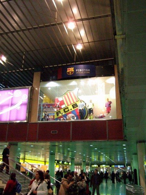 エスパーニャSPAINカタルーニャ地方・バルセロナ空港BCNバルセロナプラット空港FCBF.C.BFCバルセロナFCBarcelonaスペインサッカーリーグ