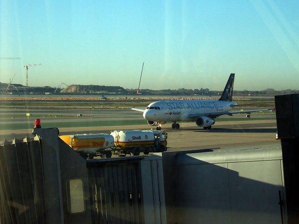 エスパーニャSPAINカタルーニャ地方・バルセロナ空港BCNバルセロナプラット空港Airbus A320-232 EC-INM