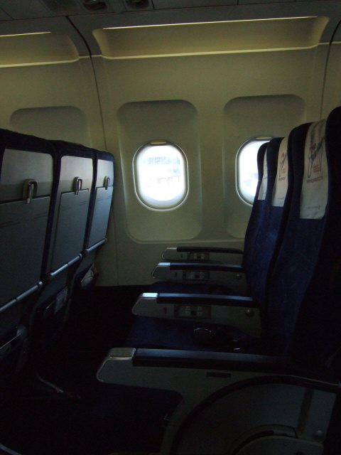 エスパーニャSPAINカタルーニャ地方・バルセロナ空港BCNバルセロナプラット空港SPANAIR EC-IMB エアバスAIRBUS A320-200