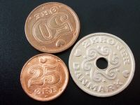 デンマーククローネコイン穴あき穴開きあな開き孔あきコイン