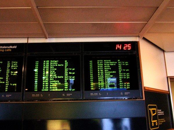 コペンハーゲン国際空港ターミナル3Cフィンガー