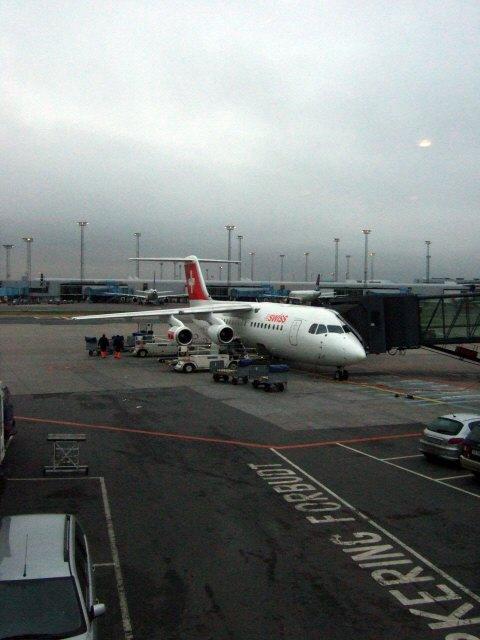 Swiss International Air Lines BAe Avro BAe 146なのかRJ100ERなのかRJ85なのか