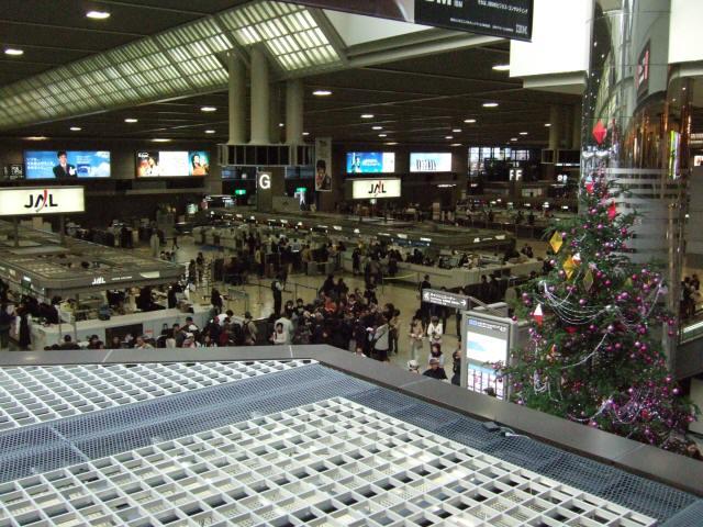 成田国際空港第2旅客ターミナルビル国際線出発ロビー