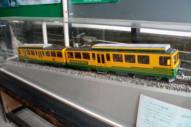 スイス・ユングフラウヨッホ観光ラウターブルネンLauterbrunnenBOB登山鉄道WAB登山鉄道大井川鐵道