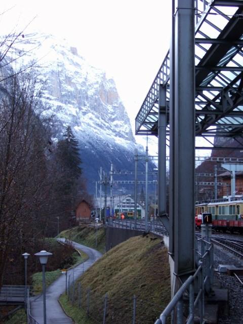 スイス・ユングフラウヨッホ観光ラウターブルネンLauterbrunnenBOB登山鉄道WAB登山鉄道