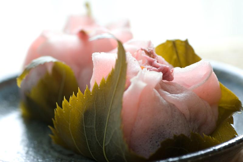 さくらもち桜もち桜餅桜葉もち和菓子スイーツ