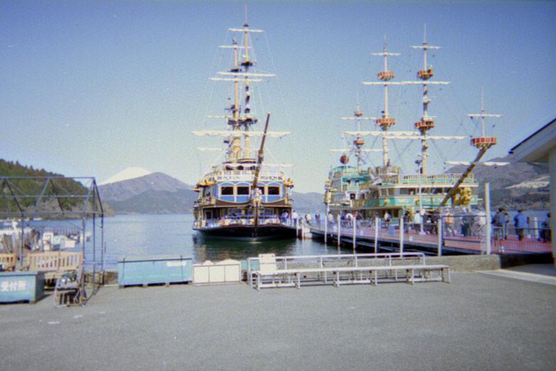 箱根観光遊覧船スーペリアヴィーナス400ISO400135フィルム