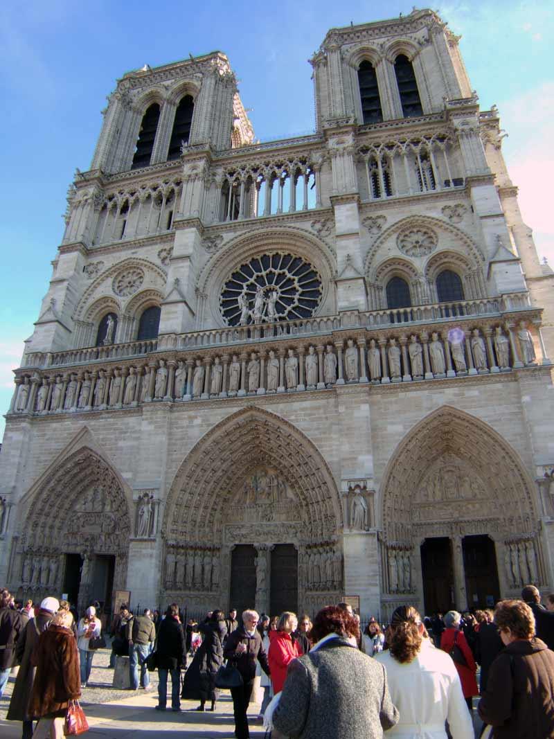 フランスパリの街角写真france-parisパリマップ地図パリ市内観光ノートルダム大聖堂ノートルダム寺院ノートルダムカテドラル