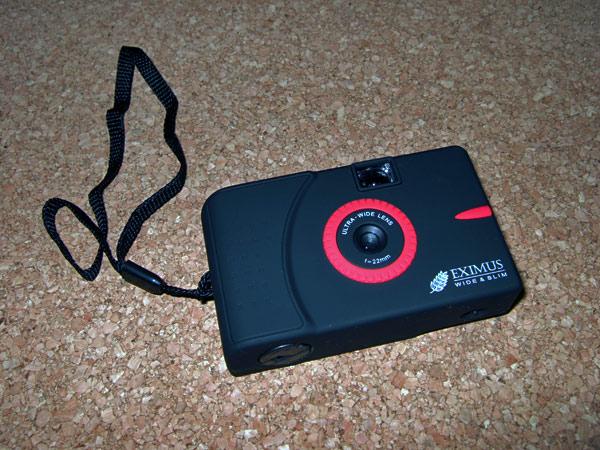 EXIMUS Wide&SlimトイカメラEXIMIUS Wide&Slim 22mm超広角レンズ