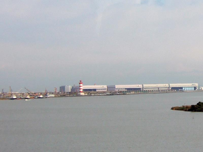 JAL機体整備工場見学