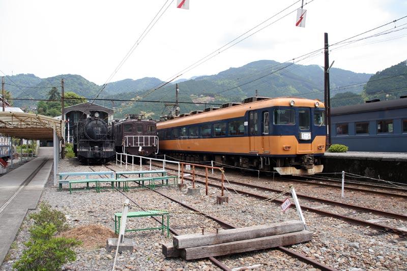 SL大井川鐵道千頭駅構内