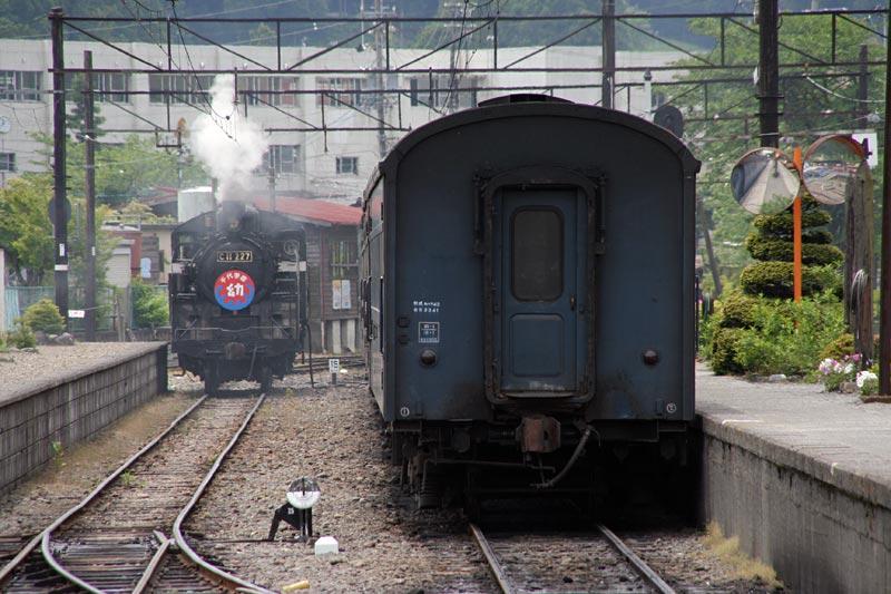 大井川鐵道千頭駅構内C11 227号機C11-227
