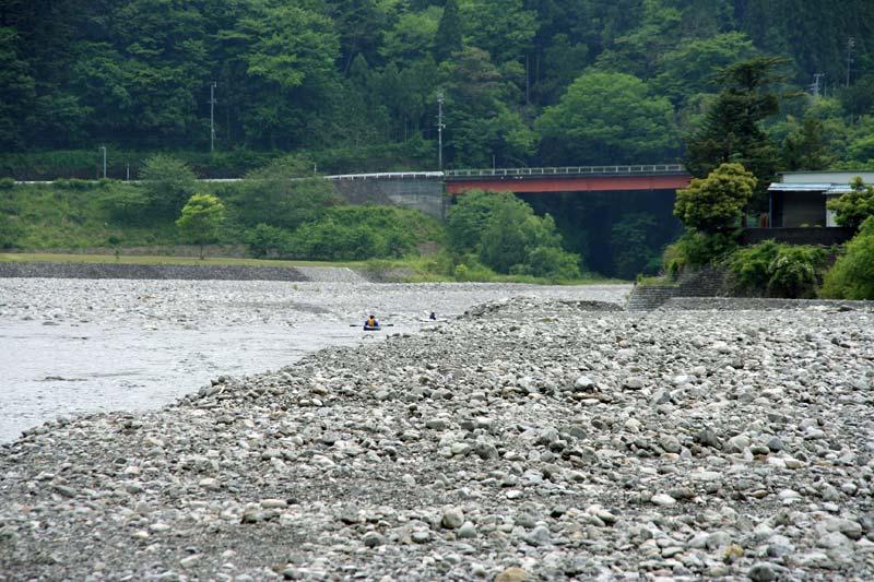 大井川鉄道で行く寸又峡温泉の旅カヌーで川下り
