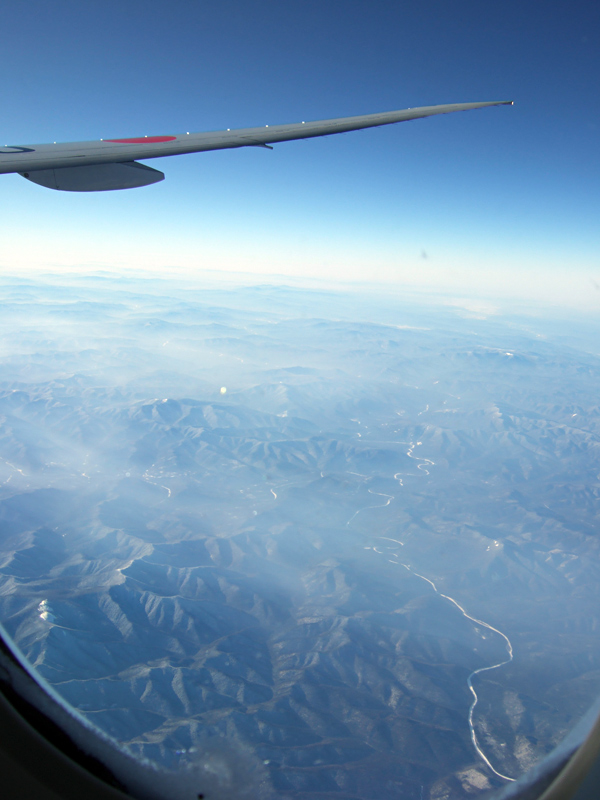 ドイツ・スイス・フランス旅日記機内食の写真