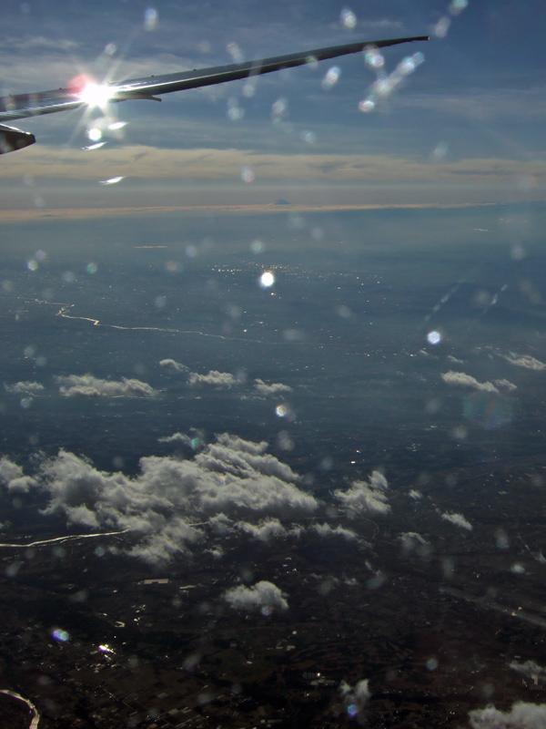ドイツ・スイス・フランス旅日記空から観る富士山