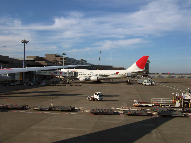 ドイツ・スイス・フランス旅日記成田国際空港第2ターミナルビル