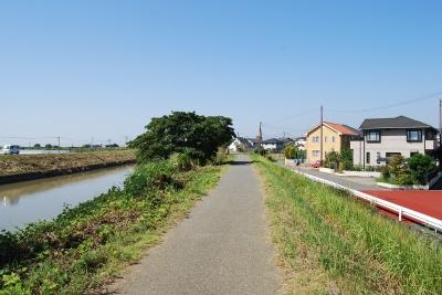 松橋土地川