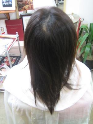 奈良市 失敗した縮毛矯正