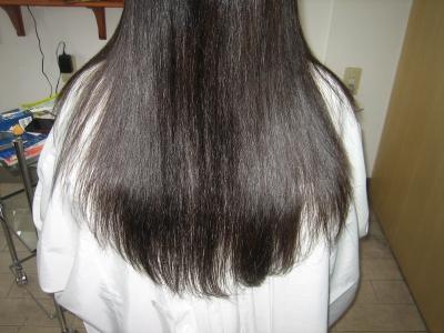 奈良 縮毛矯正 チリチリ