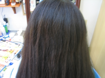 ホームカラーや白髪の染めすぎ