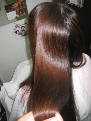 髪の綺麗なロングヘア