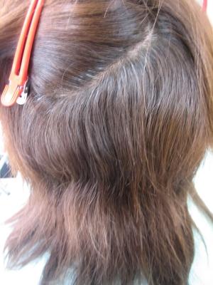 髪を減らしすぎた 美容室