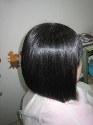 細い髪 細毛 ストレートパーマ
