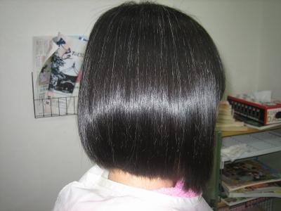 切れやすく痛みやすい髪のトリートメント