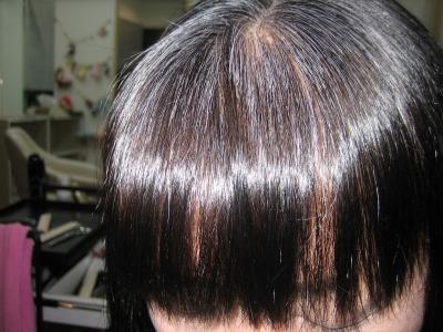 縮毛矯正の失敗 治す
