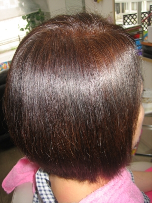 ストレートパーマの失敗を治す 縮毛矯正 奈良