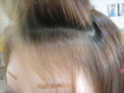 前髪が決まらない 美容室