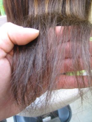 ストパー ストレートパーマ 縮毛矯正の失敗