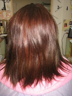 縮毛矯正の失敗 毛先のチリチリ