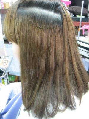 高の原 西大寺 縮毛矯正 美容室 奈良