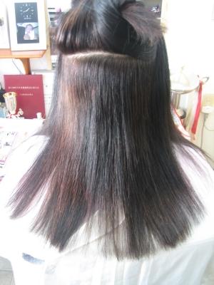 西大寺 美容院 ストレートパーマ 縮毛矯正 チリチリ