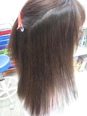 西大寺 美容院 美容室 ヘアカラー 縮毛矯正