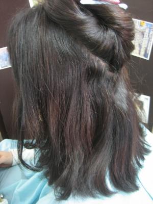 ストレートパーマ 白髪染め ヘアカラー 美容室 西大寺