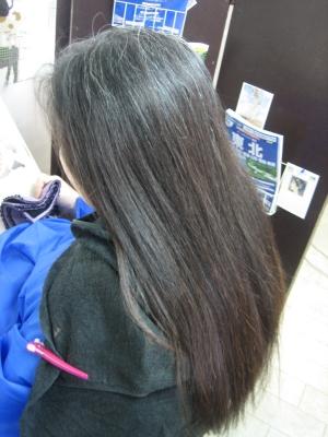縮毛矯正 40代 白髪染め ヘアカラー 美容室 奈良市 学園前